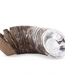 Paper Bowl – Silver