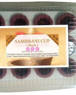 Sambrani Cup (Rose)