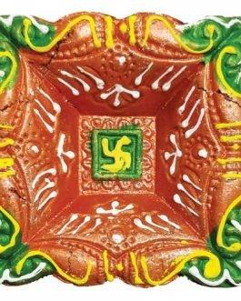 Decorative Mitti Diya